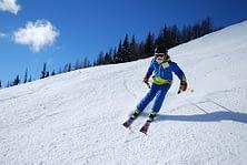 skiing technique